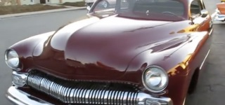 Tail Draggin' Charlie: Perfect American Hot Rod 1950 Mercury Coddington