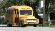"""2 Kool 4 Skool"": 1953 Short School Bus is the Dream of Every Student!"