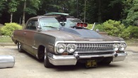 """Rusty the Rat Rod"": 1963 Chevy Impala Lowrider Looks Great Sounds Great"