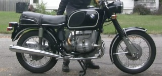 Getting 1977 BMW R60/5 Motorcycle Ready for a Short Ride