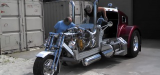 Insane Looking Monster Trike Will Make Enthusiasts Fall in Love With It!