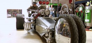 Jay Leno's Garage: The Most Insane Trike Ever Designed !!!