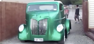 Big Shed Customs' Ford COE Cabover Truck is Eye-Catchingly Beautiful