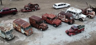 Turnin Rust's Collection of Mind-Blowingly Cool Vehicles of Various Amazing Kinds