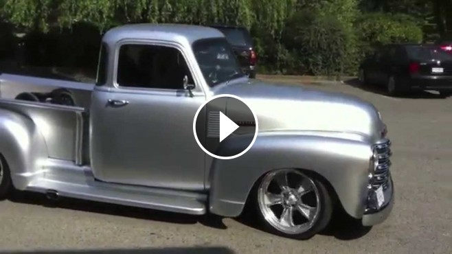 All Silver 1952 Chevrolet Pickup Street Truck Can Be the ...