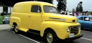 Very Rare 1948 Ford Panel Truck is Worth to Your Attention!