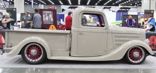Hot Rods by JSK Presents: 1936 Ford Truck is the Product of Elegance