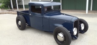 Ricky Bobby's 1934 Mercury Pickup is Stunning from Top to Ground