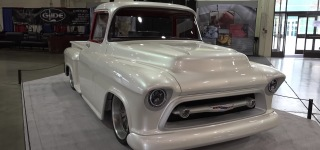 Snow White is Not Only a Fairy Tale but Also a Breathtaking 1957 Chevrolet 3100 Pickup Street Machine