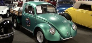 Volkswagen Beetle is Transformed Into Unique Pickup Truck