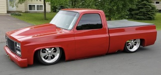 Professionally Slammed 1985 Chevy C10 Performs Breathtaking Show on the Street