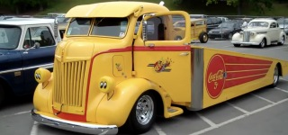 We're Used to See Hot Rod Pickup Trucks But What About Hot Rod Heavy-Duty Trucks?