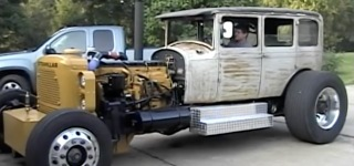 An Outstanding Creation: When Hot Rod Comes Together with Caterpillar