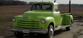 Detroit Diesel Powered Professionally Treated 1948 Chevy Pickup Looks Sounds and Drives Simply Splendidly
