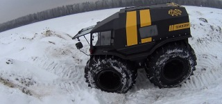 A Great Off-Road Expedition with Gigantic and Majestic All-Terrain Vehicles