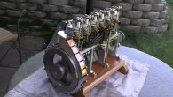 Brilliant Workmanship! Inline 6 Cylinder Miniature Engine