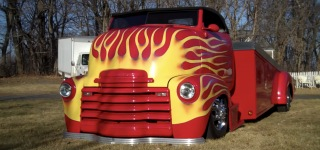 Big Block Powered 1948 Chevrolet COE Street Rod with Unique Design
