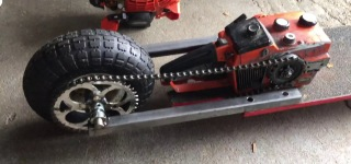 Chainsaw Skateboard Is What You Got When You Combine an Idea, a Friend, Materials and Skill