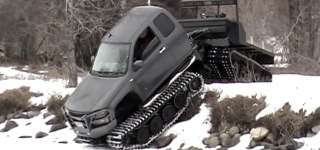 All-Terrain Amphibious Truck With Custom Extreme Hagglunds!