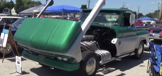 Insane 1964 GMC Pickup Truck V-12!