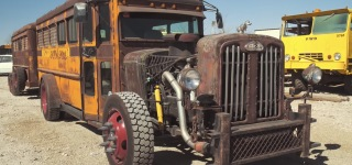 K-Code Mustang Repair Show Owner Jeff Roland Has a Rat Rod Bus!
