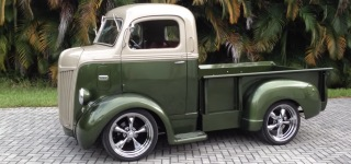 1942 Ford Cab Over Is Just Finished and Came Up Eye Catchingly Beautiful!