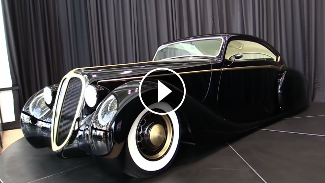 "Build A Car From Scratch >> ""The Black Pearl"": Metallica's Lead Singer James Hetfield's Scratch-Built Custom Car"
