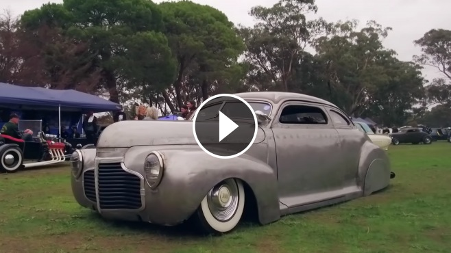 1938 Chevy Coupe >> Custom Built 1941 Chevy Professionally Chopped and Slammed to the Ground