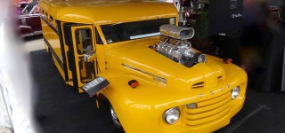 1949 Ford F-6 School Bus is Gonna Make You Want to Turn Back to Your School Years!