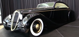 """The Black Pearl"": Metallica's Lead Singer James Hetfield's Scratch-Built Custom Car"