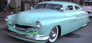 """Voodoo"" Larry's Spectacular Built: Custom 1950 Mercury at Lombard Car Show"