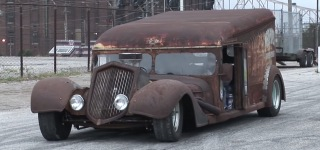 1940 Chevy Rat Rod Milk Truck Looks Like a Pile of Junk but Works Perfectly