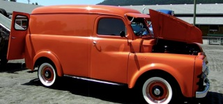 1951 Fargo Panel Truck is Renewed and Restored by Professional Hands