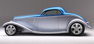 Foose Designs' 1933 Ford Coupe with Gorgeous Custom Chassis and Body