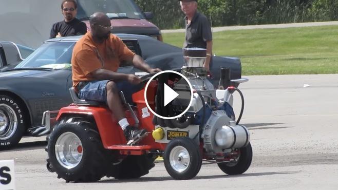 Kindig It Design >> Awesome Machine: Ford 351 Cleveland V8 Powered Cub Cadet ...
