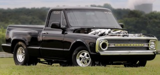 Triple Duramax Diesel Powered 1969 Chevrolet C10 Sets Its Own Best Record with 8.62@ 161.25mph