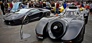 When Charisma Overflows: Original Batmobile Vs Lamborghini Aventador