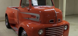 Great Looking Custom 1948 Ford COE Pickup Truck with Exquisite Details
