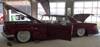 """Scarlet Lady"": 1956 Lincoln Continental by Ryan's Rods!"