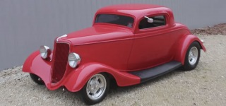 Professionally Built 1934 Ford 3-Window Coupe Is Extraordinarily Beautiful