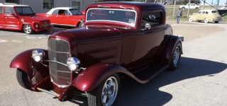 A True Masterpiece: Outstandingly Customized 1932 Model Ford Coupe Deuce