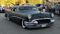 Custom Built Buick Century Hot Rod Looks as Cool as a Black Panther