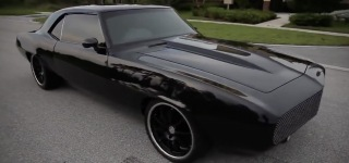 "1969 Chevrolet Camaro SS ""Black Beast"" is a Global Legend!"