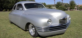 1949 All-Steel Pack-Rat Packard Rod with Very Elegant Lines and Fine Details