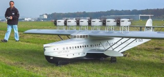 1:10 Scale R/C of The Dornier DO X Flying Boat is a Masterpiece!