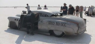 """Bombshell Betty"" 1952 Buick Super Riviera Land Speed Race Car Hit the Lands Speed Record!"