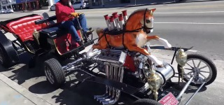 This Incredible Hot Rod is the Mechanical Version of Horse-Drawn Vehicles