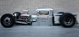 100% Handmade Model A Street Rod by Cutworm Specialties is the Product of Crazy Skills