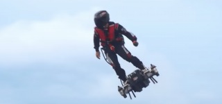 Incredible Personal Flying Machine Is Gonna Make You Fly Like Iron Man!