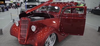 1935 Ford Coupe Painted by House of Kolor Creates an Hypnotizing Affect